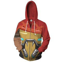Image of MCCREE - Zip UP Anime Hoodie - 3D Printed Clothing