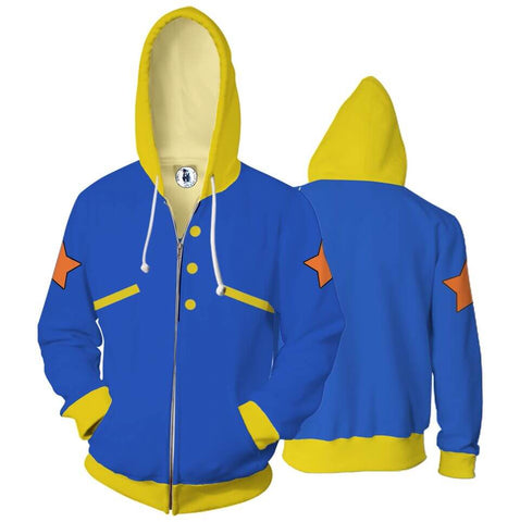 Pokemon - Zip UP Anime Hoodie - 3D Printed Clothing