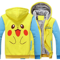 POKEMON GO PIKACHU HOODIE - ANIME CLOTHING - POKEMON HOODIES AND SHIRTS