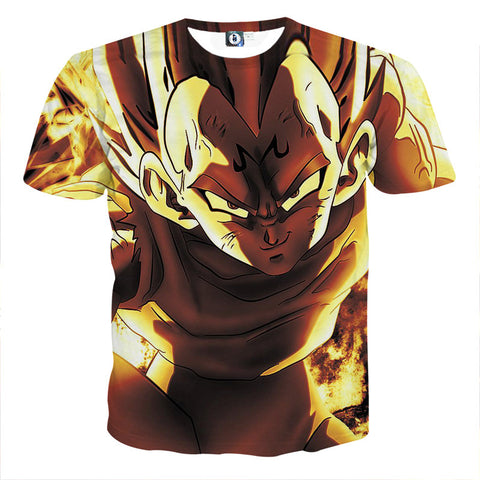 DBZ Cool Portraits T-Shirts
