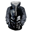Image of Joker and Batman Hoodie - Joker 3D Hoodie - Jacket