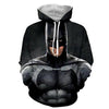Image of Batman 3D Hoodie -Batman Jacket - Batman Clothing