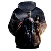 Image of Justice League 3D Printed Hoodie / Super Man / Batman / Wonder Women