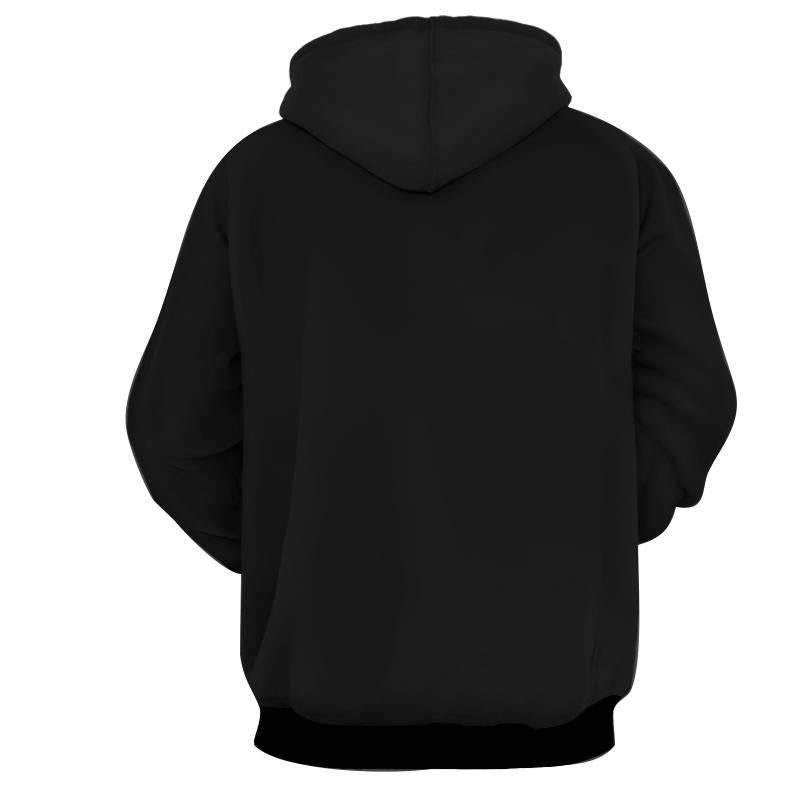 BLACK GOKU ROSE FORM - POTARA FUSION EARRINGS - DRAGON BALL SUPER PULLOVER HOODIE - 3D PRINTED ANIME HOODIE