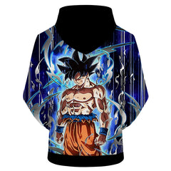 DRAGON BALL Z HOODIES - ULTRA INSTINCT GOKU BLACK COLOUR HOODIE - DBZ 3D PRINTED HOODIE
