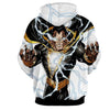 Image of Black & Gold Shazam 3D Hoodie - Jacket