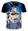 Image of Dragon Ball Super - LIMIT BREAKER GOKU T-SHIRT NEW FORM - DRAGON BALL Z T-SHIRTS FULL PRINTED CLOTHING