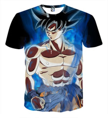 Dragon Ball Super - LIMIT BREAKER GOKU T-SHIRT NEW FORM - DRAGON BALL Z T-SHIRTS FULL PRINTED CLOTHING