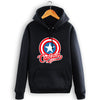 Image of Hot Captain America Shield  Sweatshirt Men Hoodies - 3D Printed Hoodies - Pullover Jacket