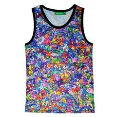 Pokemon Pocket Monster Cosplay 3D Tank Top