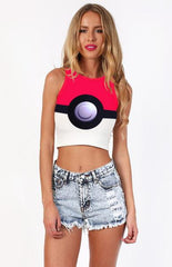 Pokemon Pattern Top Tank
