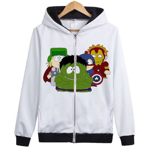 Women Men South Park Explosion - 3D Printed Hoodies - Pullover Jacket