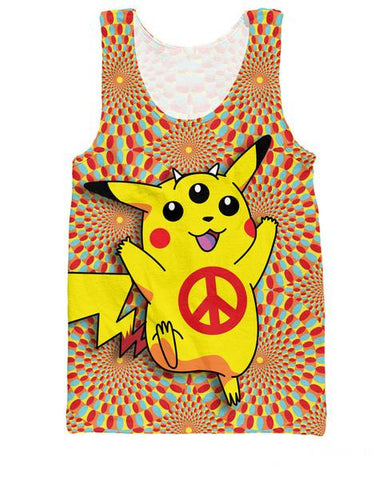 Pokemon Peace Trip Tank Top