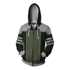 AVATAR THE LAST AIRBENDER HOODIE - KUVIRA ZIP UP HOODIE - 3D ARMOUR JACKET