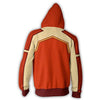 Image of AVATAR THE LAST AIRBENDER HOODIE - FIRE FERRET ZIP UP HOODIE - 3D ARMOUR JACKET