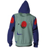 Image of Copy Ninja Kakashi  ZIP UP HOODIE