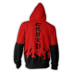 NARUTO SAGE MODE ZIP UP 3D PRINTED HOODIE - NARUTO SHIPPUDEN HOODIES AND SHIRTS - ANIME HOODIES AND SHIRTS