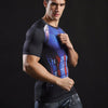 Image of Captain America 3D Printed T Shirt