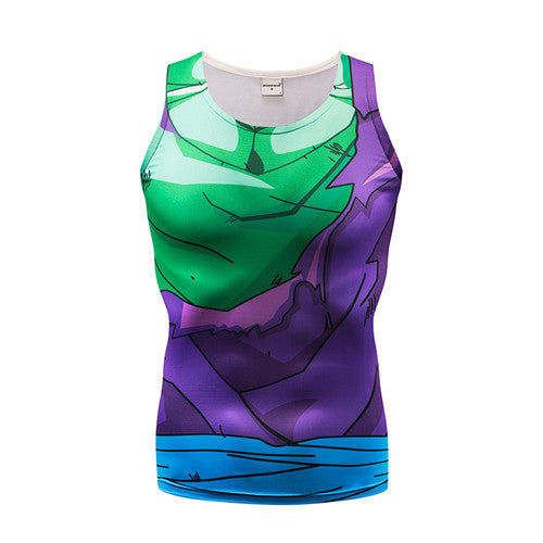 Dragon Ball Z Picolo 3D Armour Tank Top