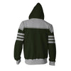 Image of AVATAR THE LAST AIRBENDER HOODIE - KUVIRA ZIP UP HOODIE - 3D ARMOUR JACKET