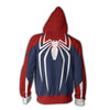 Image of SPIDER-MAN PS4 - ZIP UP HOODIE - 3D HOODIE