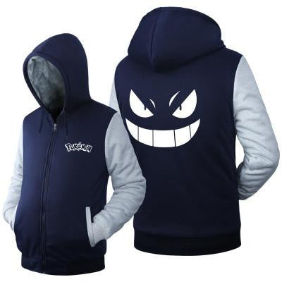 MONSTER GENGAR HOODIE - POKEMON CLOTHING - ANIME HOODIES AND SHIRTS