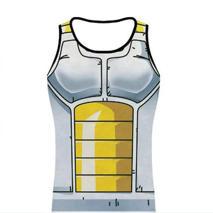 Vegeta Cell Armour Top Tank