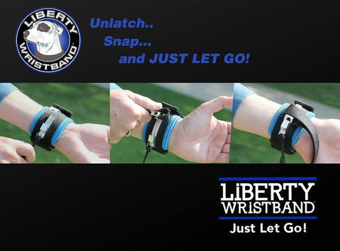 Liberty Wristband - Handsfree Leash Holder