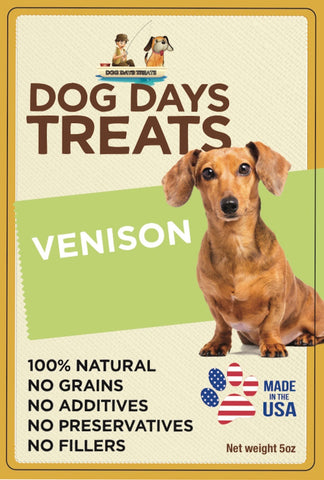 All Natural Single-Ingredient Venison Sticks - 5 ounce package