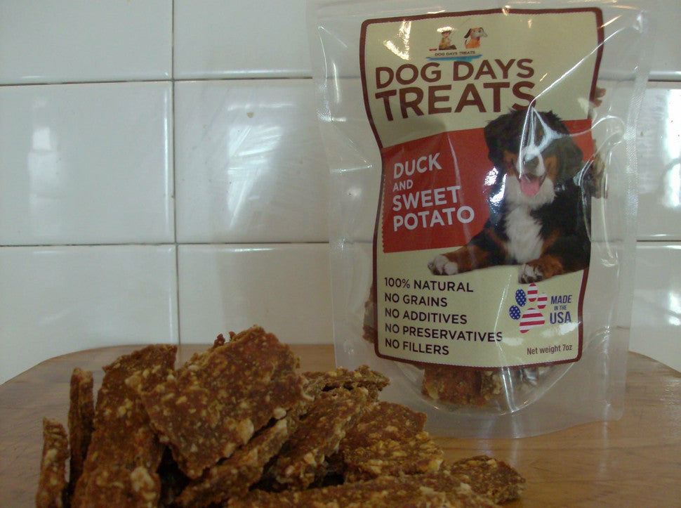 ALL NATURAL Duck and Sweet Potato Dog Treats