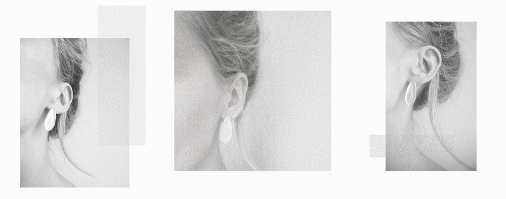 agatha a nitecka earrings silver sage