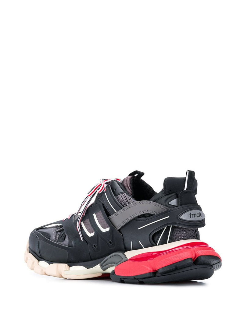BALENCIAGA Track Sneakers Black/Red