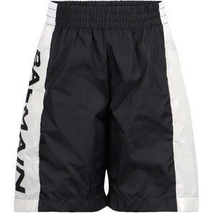 Balmain kids Bermuda shorts swimsuit