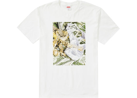 Supreme Bling Tee White