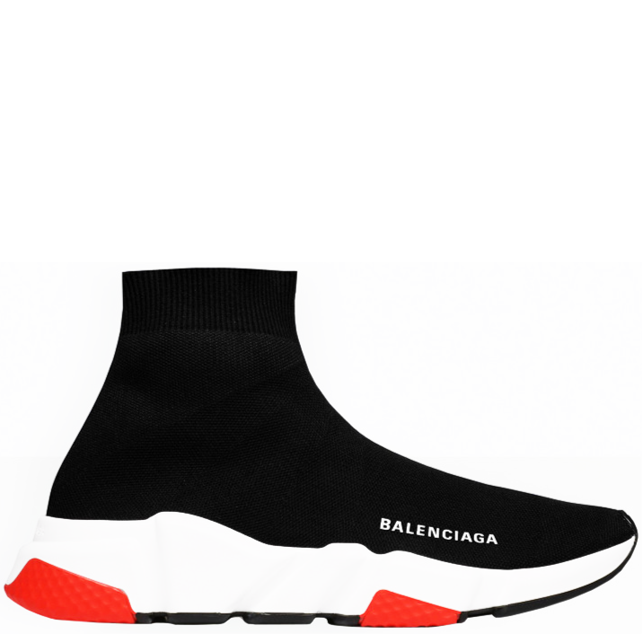 BALENCIAGA Speed Trainer Black/White/Red