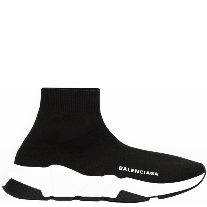 BALENCIAGA Graffiti Speed Trainer Black/Black
