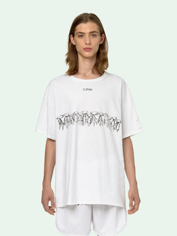 OFF-WHITE FUTURA ATOMS S/S OVER T-SHIRT