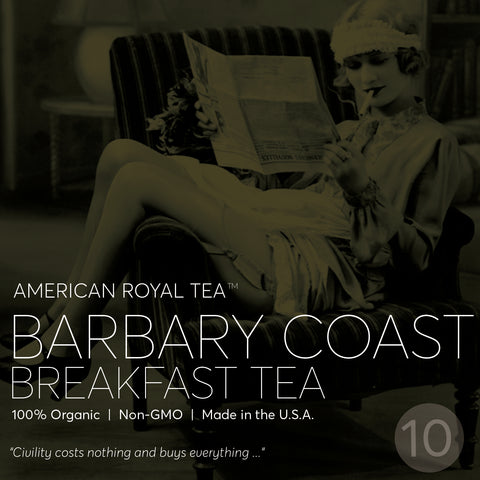 Barbary Coast Breakfast Tea