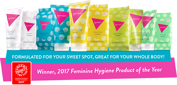 SweetSpot Labs 2017 feminine hygiene product of the year
