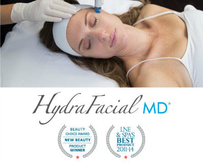 HydraFacial MD®- Four Treatments- $425- (Reg. $139 each)