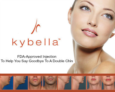 KYBELLA® Double Chin Reduction- Single Treatment-Two Vials-$1055 (Reg. $1390)