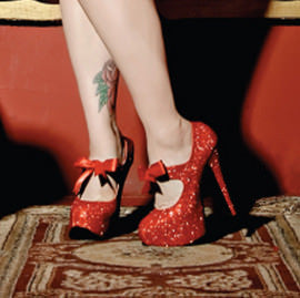 bordello burlesque shoes