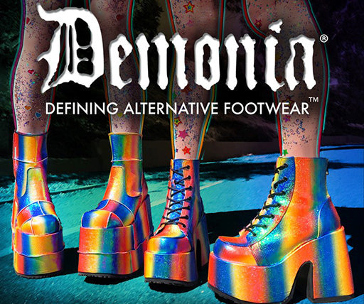 Demonia Boots and Wedges