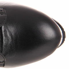 PLEASER ADORE-1020 Black Leather 7