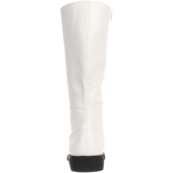 Men's White Knee High Stormtrooper Boots - Shoecup.com - 3