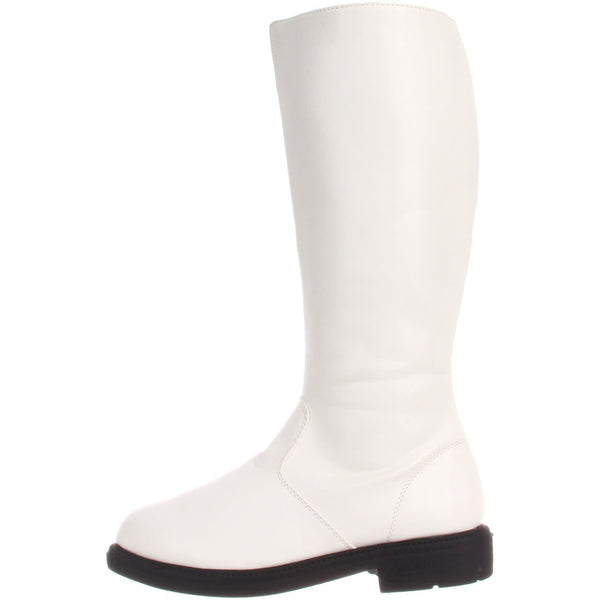 Men's White Knee High Stormtrooper Boots - Shoecup.com - 5