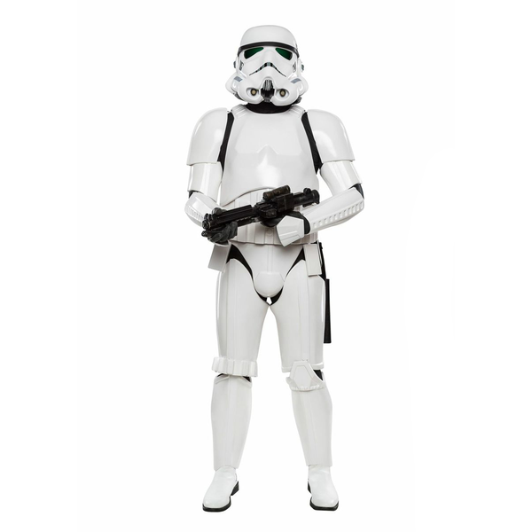 Men's White Knee High Stormtrooper Boots - Shoecup.com - 8