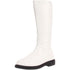 Men's White Knee High Stormtrooper Boots - Shoecup.com - 1
