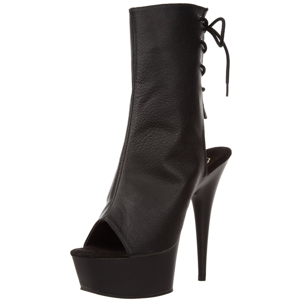 "6"" Heel DELIGHT-1018 Black"