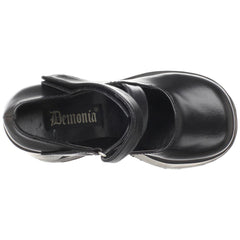DEMONIA DYNAMITE-03 Black Pu Mary Jane - Shoecup.com - 6